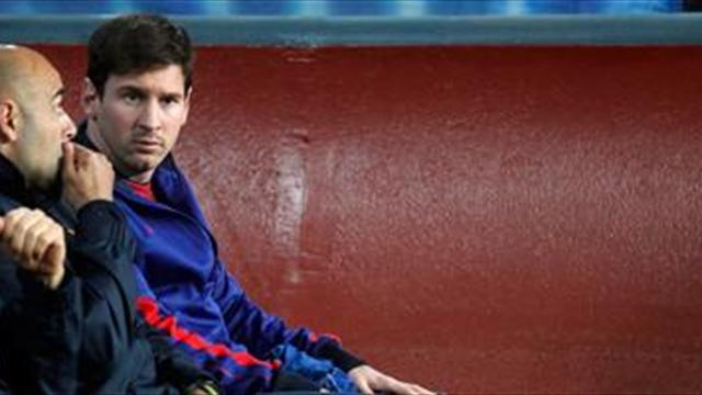 Spanish Liga - Messi 'meant for only 15 mins'