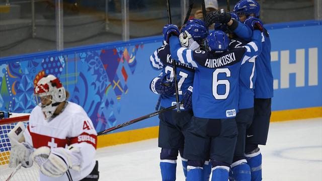 Ice Hockey - Finland edge Swiss women in overtime
