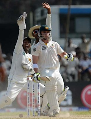 The LBW of Phil Hughes in the Kandy Test and prompted Simon Taufel to use it as a an instance of Hawk-Eye's failing.