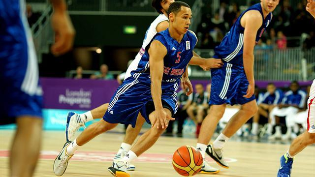 Basketball - Lawrence takes Britain to brink of EuroBasket progress