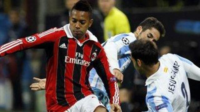 Serie A - Dunga admits to Robinho interest