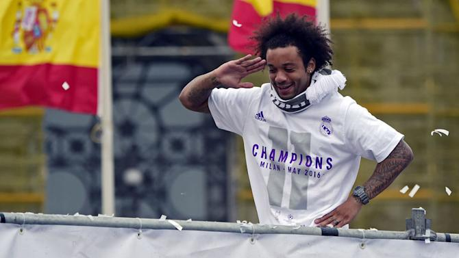 Marcelo Gives Fans Chance to Win Champions League Medal and Boots
