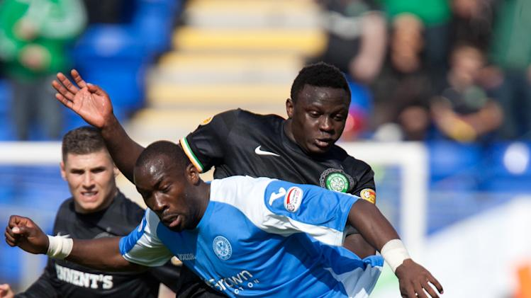 Gregory Tade's goal kick-started a comfortable 90 minutes for St Johnstone