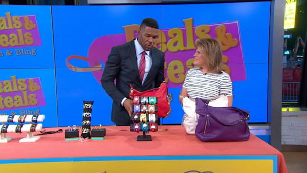 Good Morning America Deals And Steals September 2014 : Gma deals and steals on must have bags jewelry yahoo