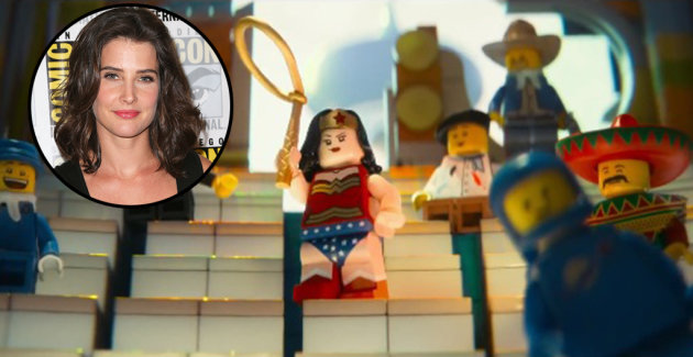 Cobie Smulders voices Wonder Woman in 'The LEGO Movie'