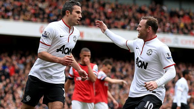Premier League - Van Persie scores on return to Arsenal as Manchester United earn draw