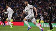 Karim Benzema scored Real Madrid's first in their 3-1 win over Napoli and Zinedine Zidane was relieved that he got a goal at an ideal time.