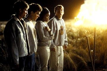 Luke Edwards , Drew Tyler Bell , Lena Edwards and Billy Aaron Brown in MGM's Jeepers Creepers 2