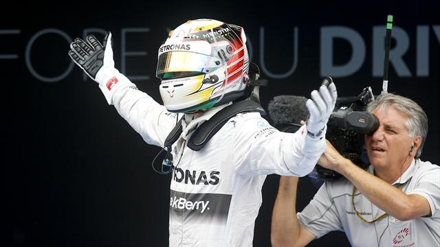 Formula 1 - Four in a row for Hamilton and Mercedes