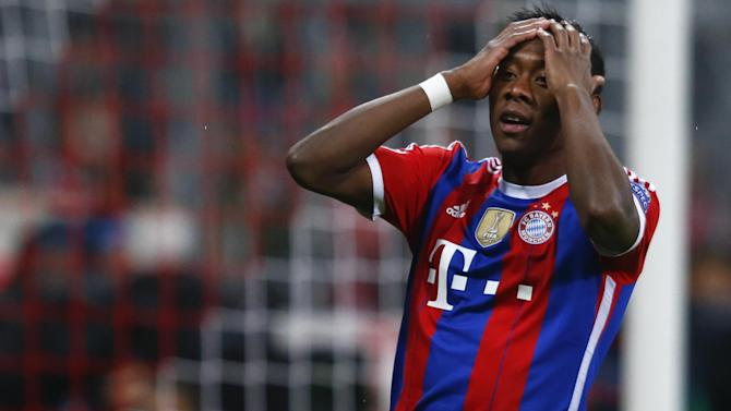 Bundesliga - Bayern Munich suffer big blow as David Alaba ruled out for seven weeks