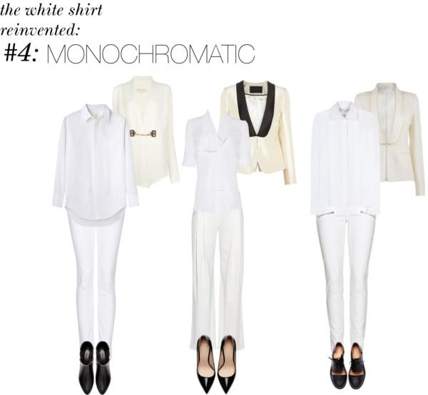 4. In a Monochrome Ensemble