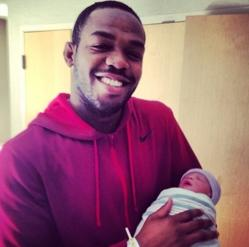 UFC Champ Jon Jones Welcomes New Baby Girl