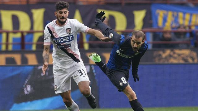 Serie A - Late own goal sees Inter edge out Palermo