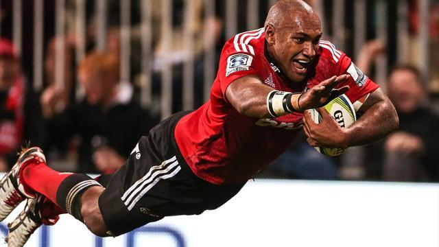 Super Rugby - Ominous Crusaders put Reds to sword to issue Super warning