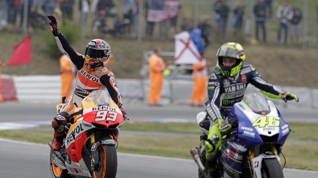 Motorcycling - Rossi: I lacked Marquez's self-belief