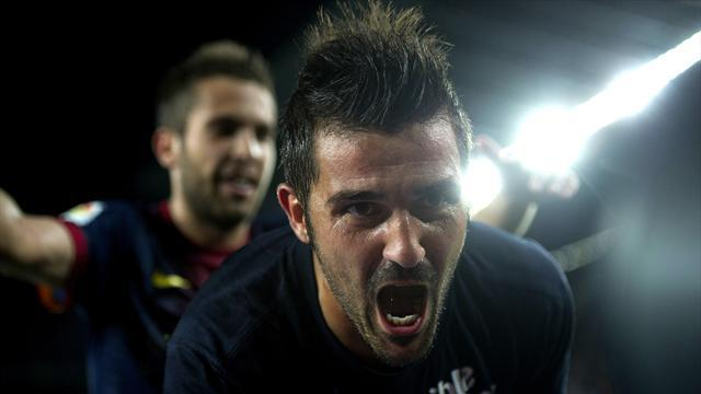 Villa recalled for Spain qualifiers
