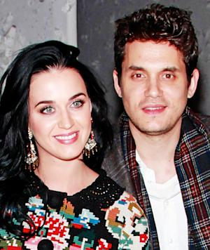 """John Mayer, Katy Perry Get Affectionate, """"Rock Out"""" at Rolling Stones Concert"""