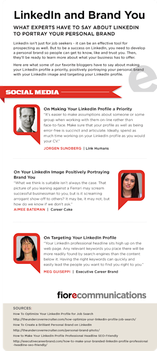 How to Manage Brand You on LinkedIn [Infographic] image LinkedIn and Personal Brand
