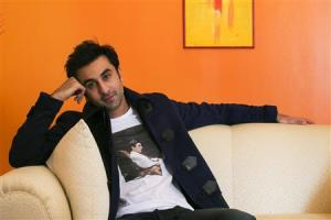 File of Bollywood actor Ranbir Kapoor posing for a portrait while doing interviews regarding his new film Besharam in New York