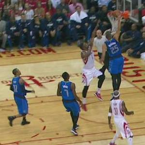 Parsons Throws It Down