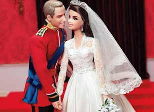 Barbie takes on Kate Middleton and Prince William!