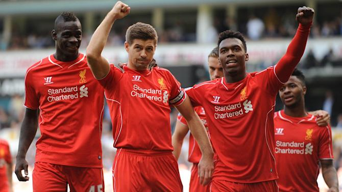 Premier League - Sterling steals the show as Liverpool beat Spurs on Balotelli bow