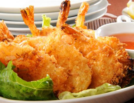 Beer-Battered Coconut Shrimps