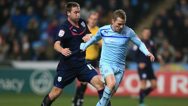 League One - Coventry late show stuns Preston