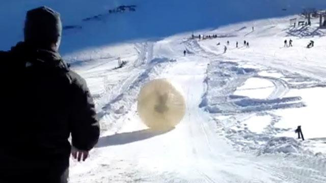 Man Dies in 'Zorbing' Thrill-Ride