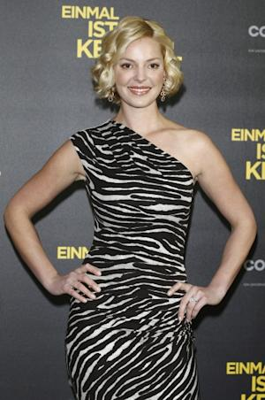 Katherine Heigl is seen at the 'One for the Money' photocall at Hotel de Rome in Berlin on February 6, 2012  -- Getty Images