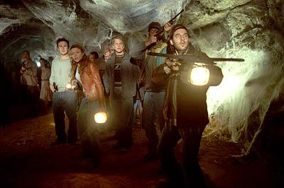 David Arquette , Kari Wuhrer , Matt Czuchry and John Storey in Eight Legged Freaks