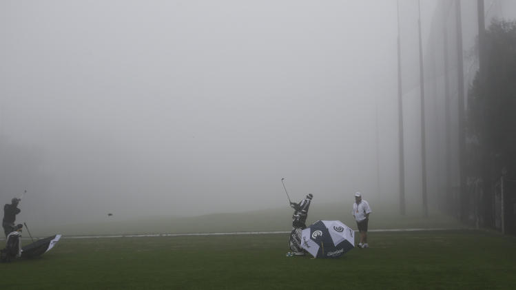 fog delays 3rd round at torrey pines