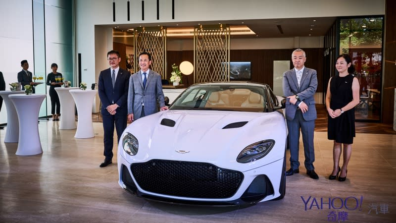 【新車圖輯】DBS Superlegerra無預警首發!Aston Martin高雄展示中心開幕辣翻南台灣!