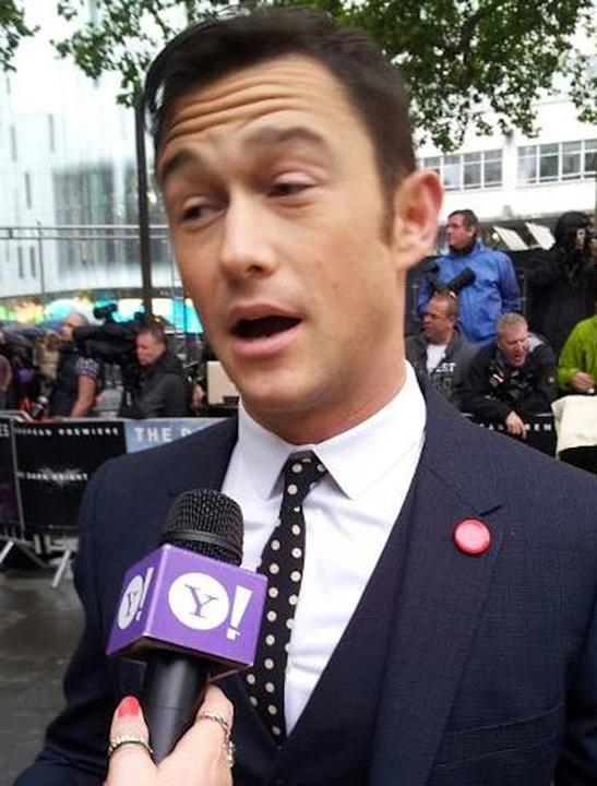 Celebrity photos: Joseph Gordon Levitt had to think hard about our 'serious' question.