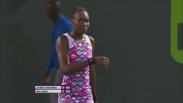 Venus crashes out in Miami; Petkovic through