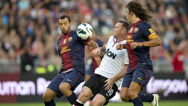 Barcelona beat Manchester United on penalties