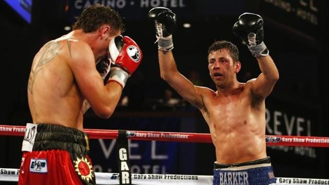 Boxing - Barker to make first defence of IBF belt against Sturm