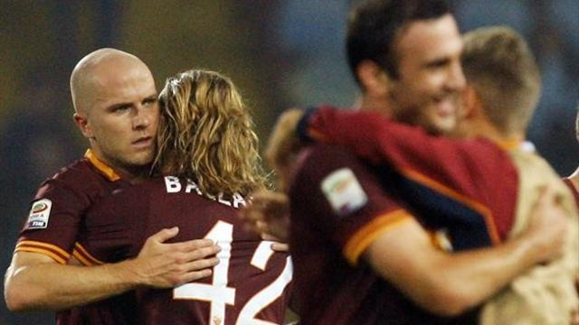 Serie A - Leaders Roma make it perfect 10 with win over Chievo