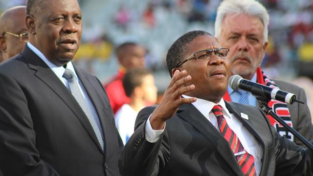 Minister Mbalula visits Spain to solidify relations with La Liga