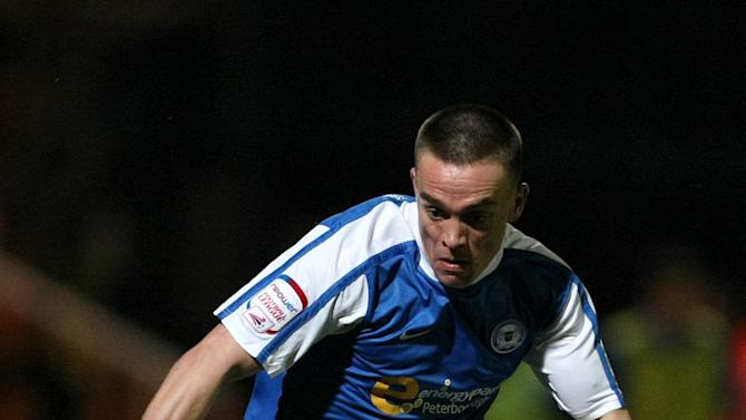 Paul Taylor was a deadline-day signing from Peterborough
