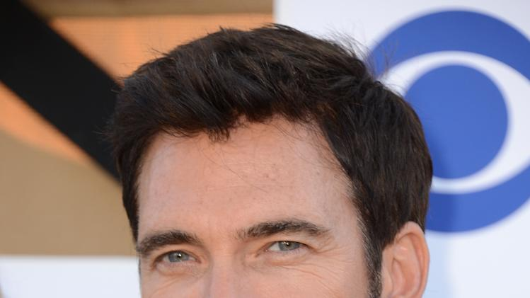 Dylan McDermott arrives at the CBS, CW and Showtime TCA party at The Beverly Hilton on Monday, July 29, 2013 in Beverly Hills, Calif. (Photo by Jordan Strauss/Invision/AP)