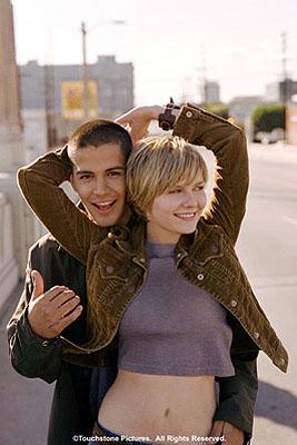 Jay Hernandez and Kirsten Dunst in Touchstone's crazy/beautiful