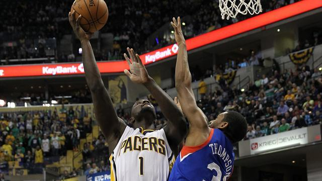 Basketball - Pacers duo turn it on to see off Sixers