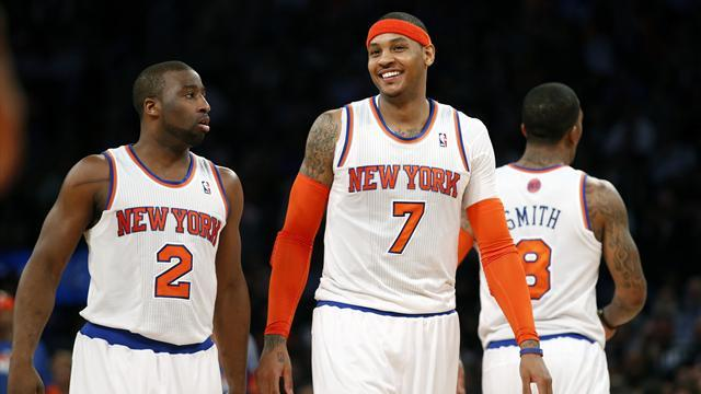 Basketball - Knicks beat Pacers to level series