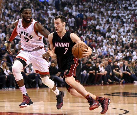 NBA: Playoffs-Miami Heat at Toronto Raptors
