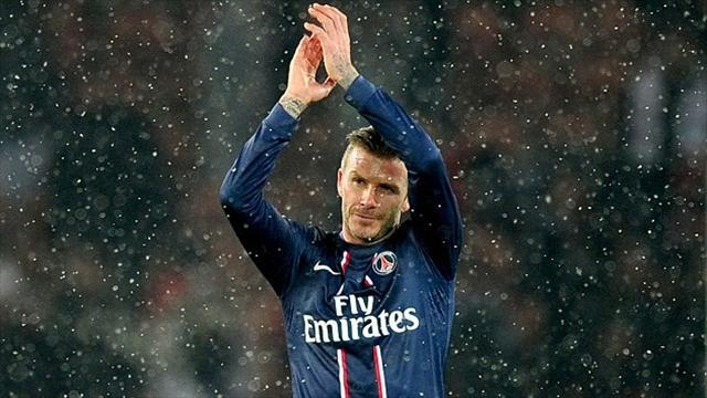 Football - Beckham: I always gave everything