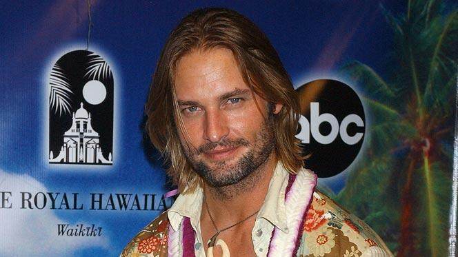 "Josh Holloway at the ""Lost"" Season 2 Premiere - After Party."