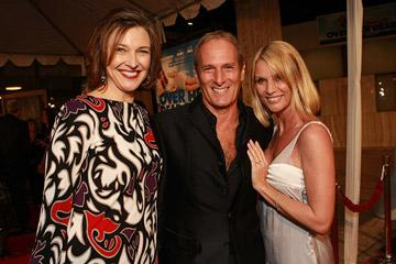 Brenda Strong , Michael Bolton and Nicollette Sheridan at the Los Angeles premiere of New Line Cinema's Over Her Dead Body