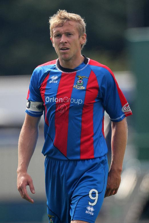 Richie Foran put Inverness ahead before Cammy Smith pegged them back