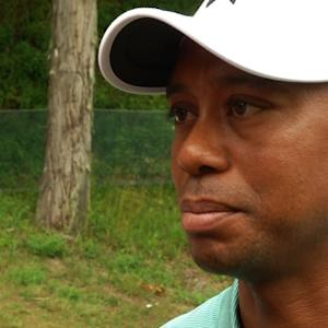 Tiger Woods interview after Round 1 of The Greenbrier